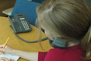 A question about telephone election canvassing for Double glazing salesman