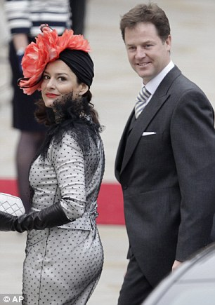 the most stylish guest at the royal wedding � miriam clegg