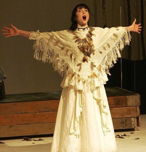Lily Cole's Cambridge theatre debut